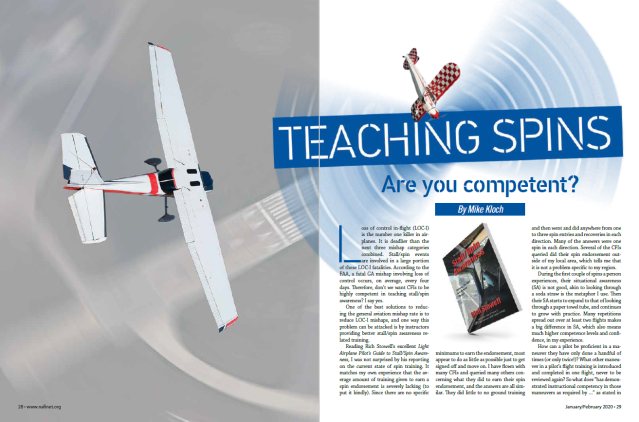 Teaching Spins article graphics